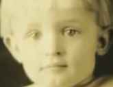Merlin Wieting as a child